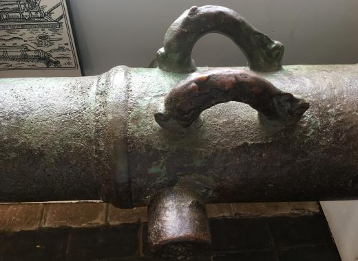 Museum talk - the Dunwich Bank Wreck cannon and its close relatives 11 08 20