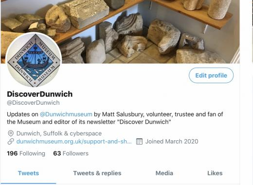 Discover Dunwich on Twitter